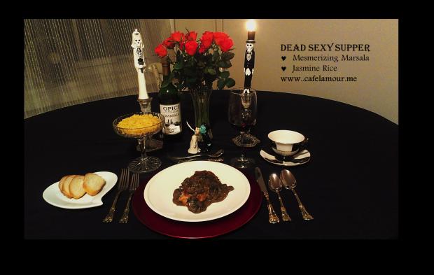 10-20-2014 Dead Sexy Supper - Mesmerizing Marsala