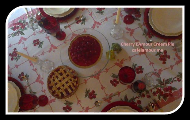 11-27-2014 Cherry on Top - Cherry L'Amour Cream Pie