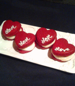 Eat Your Heart Out Red Velvet Whoopie Pies by Ms. L'Amour