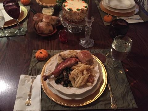 A Thanksgiving Plate